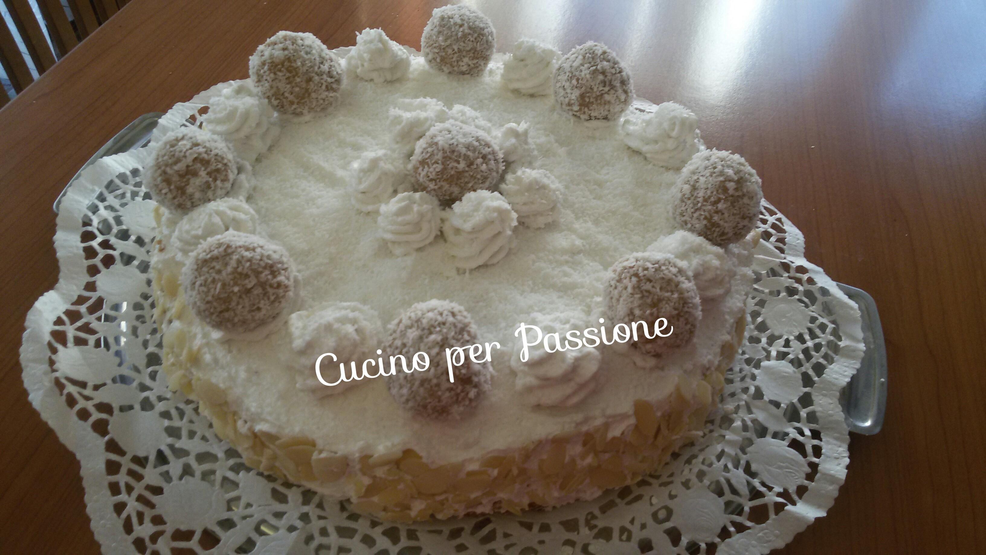 Torta Raffaello vegana