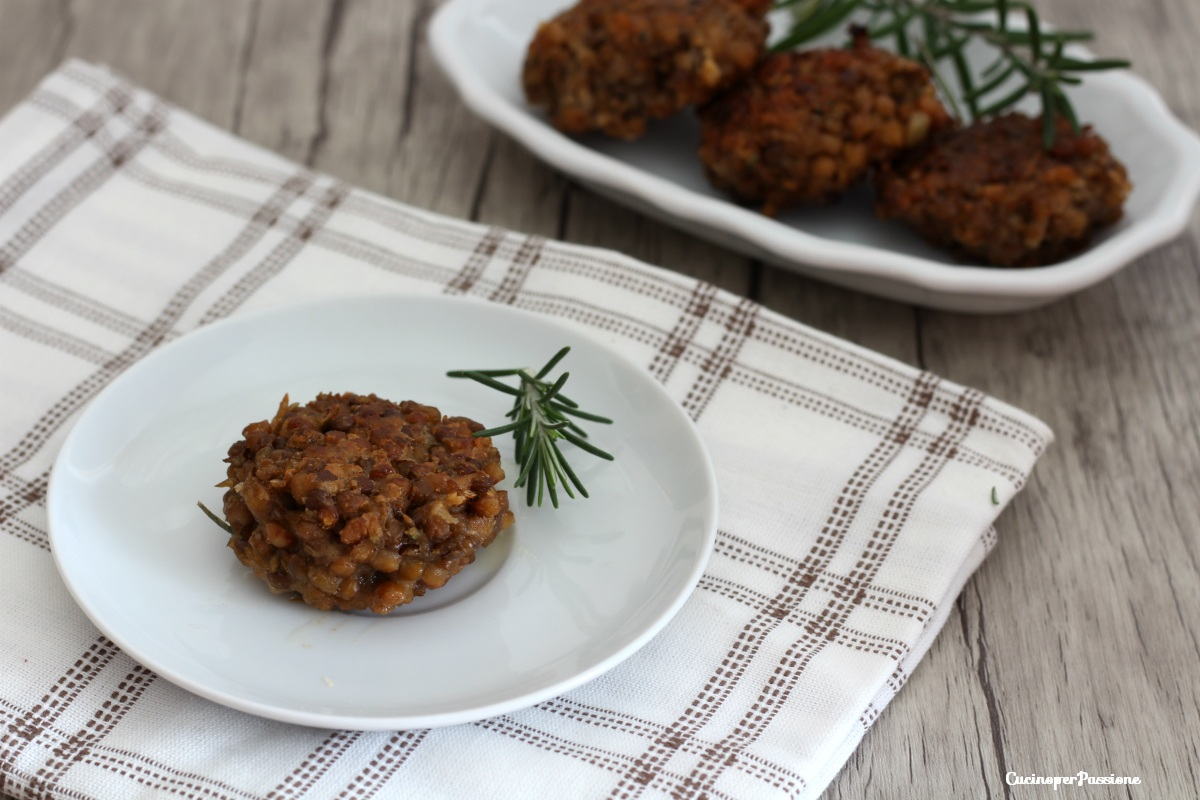 Polpette di lenticchie - ricetta facile