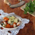 Insalata di surimi patate e carote