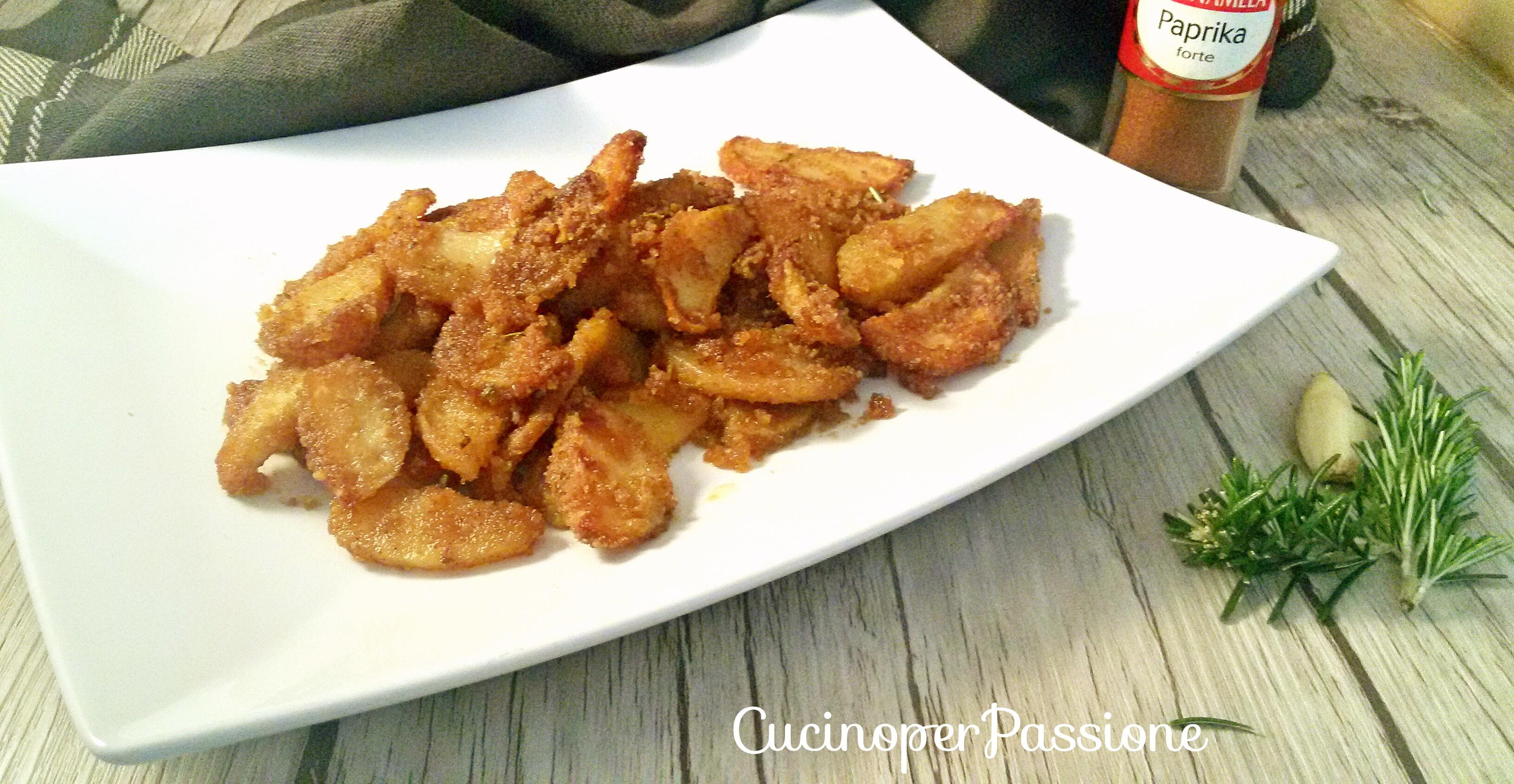 Ricetta Patate Sabbiose alla Paprika