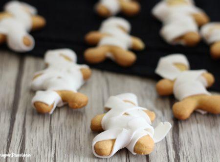 Mummie di frolla idea per Halloween
