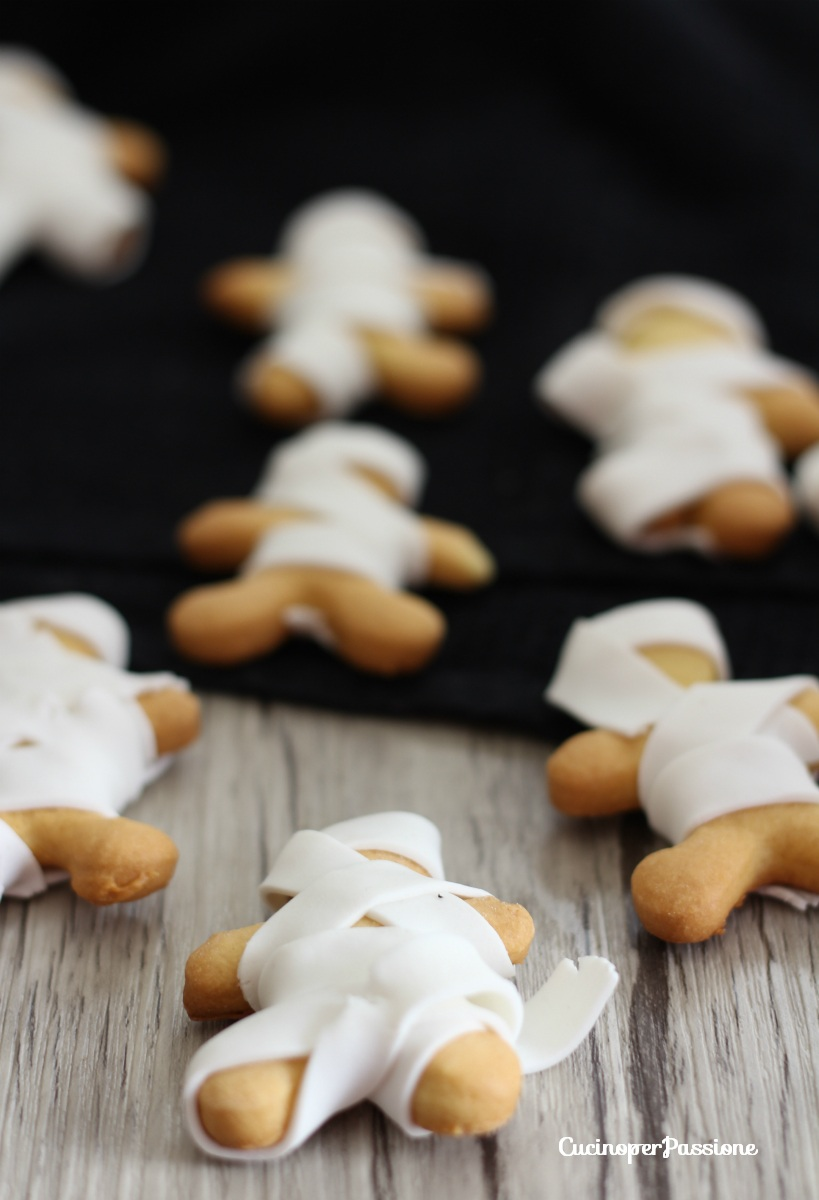 Mummie di Frolla e Pasta di Zucchero
