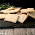 Crackers ricetta