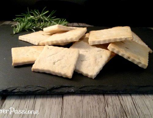 Crackers ricetta con lievito madre