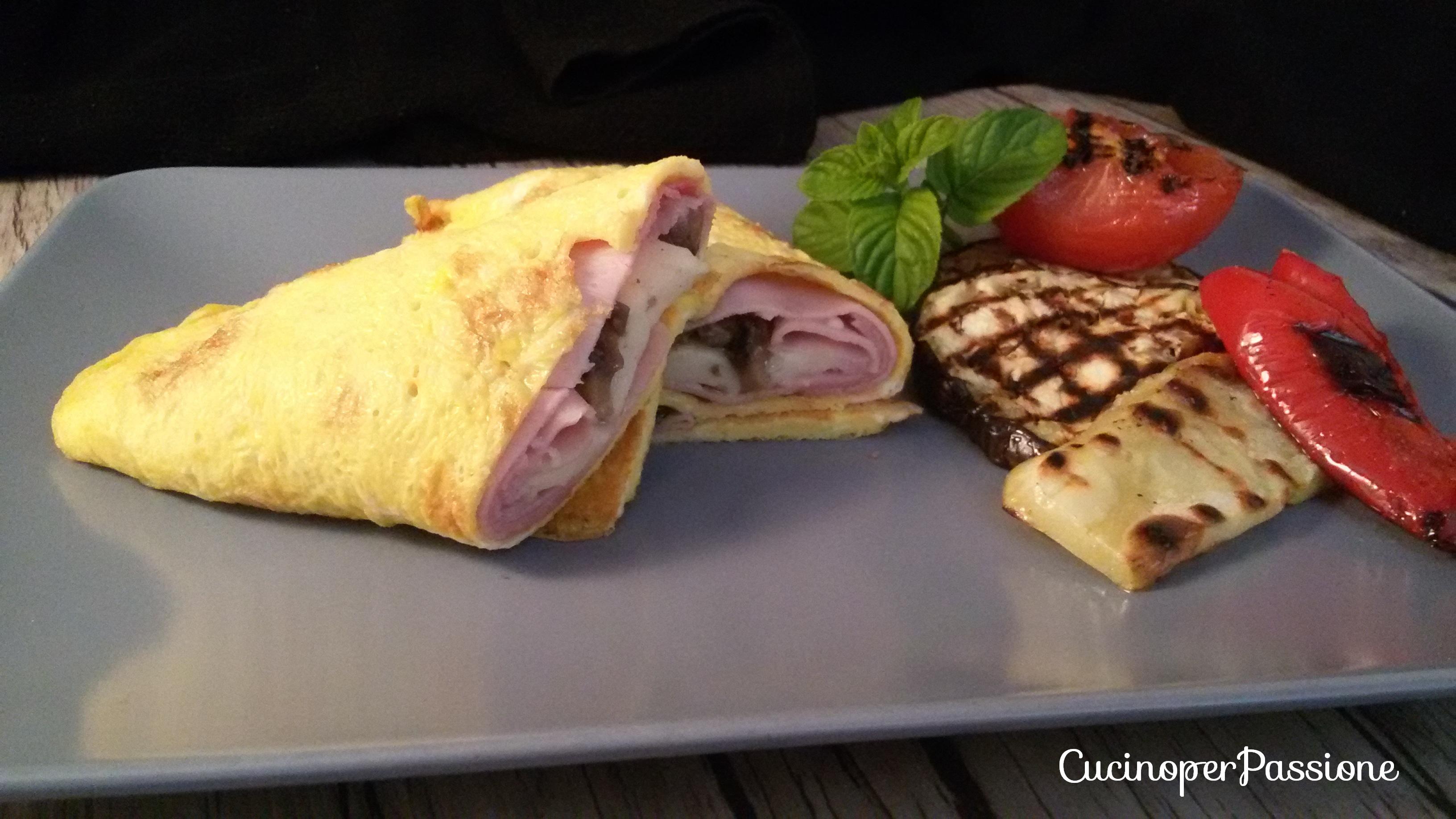 Omelette ricetta veloce