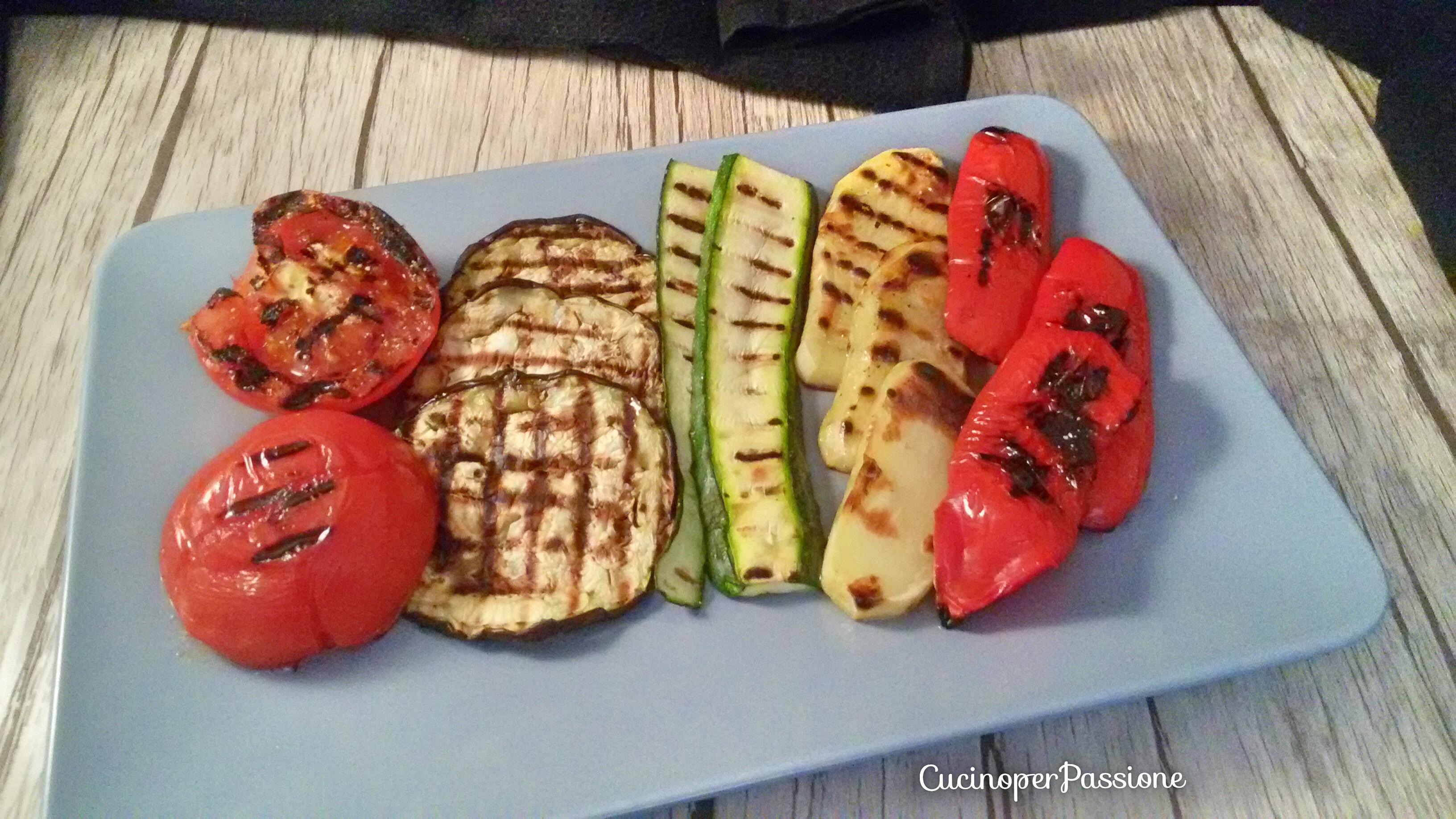 Verdure grigliate miste tutti i segreti !