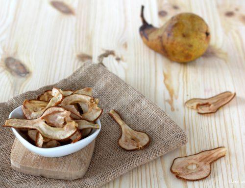 Frutta essiccata ricetta chips di pere