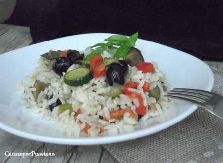 Riso ai sapori mediterranei - profumato e gustoso