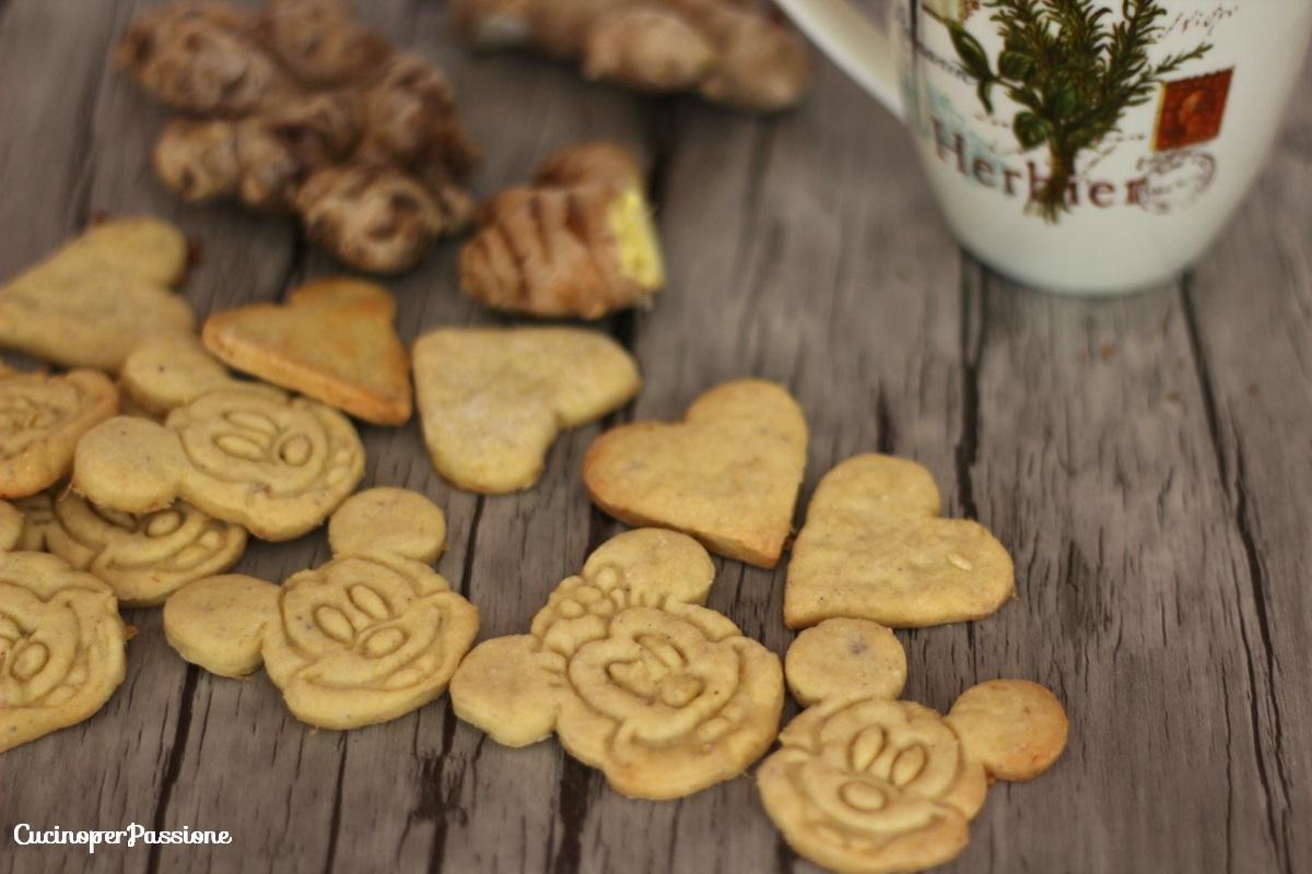 biscotti allo zenzero vegan 1