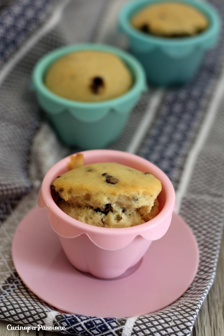 Muffin Gocce di Cioccolato Fondente