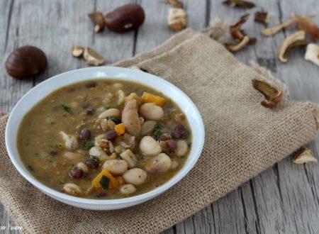 Zuppa montanara gustosa e saporita