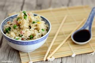 Riso cantonese - ricetta veloce