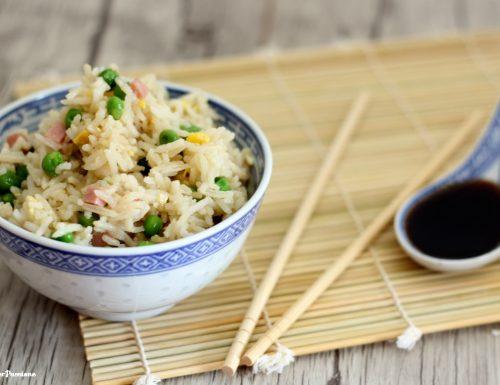 Riso cantonese – ricetta veloce