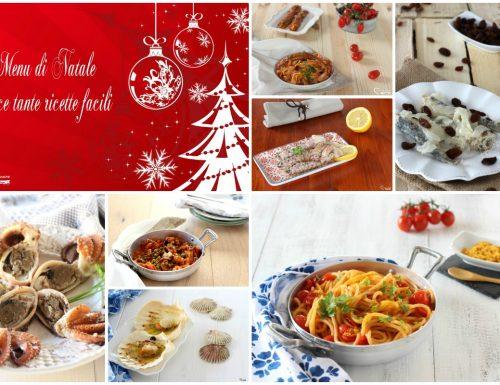 Menu di Natale pesce tante ricette facili