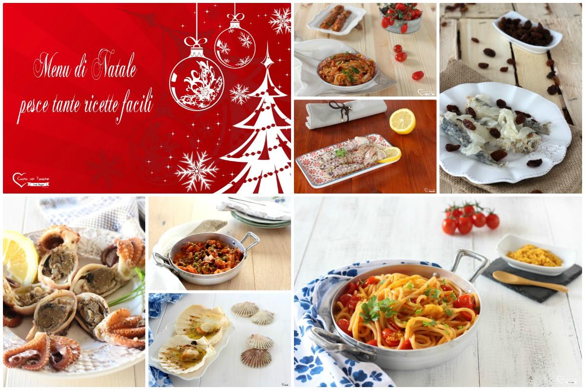 Menu Di Natale Ricette Giallo Zafferano.Menu Di Natale Pesce Tante Ricette Per Un Menu Completo Per Le Feste