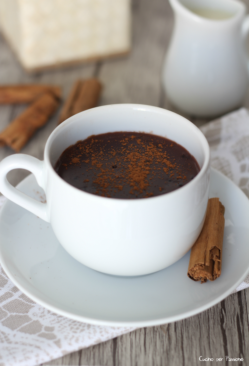 Cioccolata Calda Fatta in Casa alla Cannella