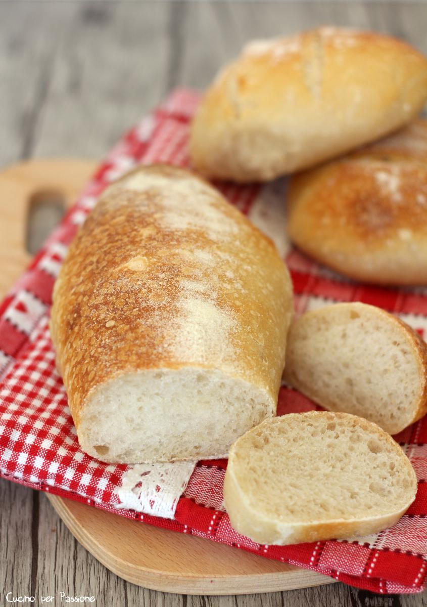 Pane con lievito madre ed autolisi