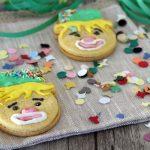 Biscotti di carnevale di pasta frolla