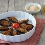 Ricetta cozze ripiene gratinate al forno