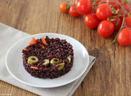 Riso venere ricetta vegetariana