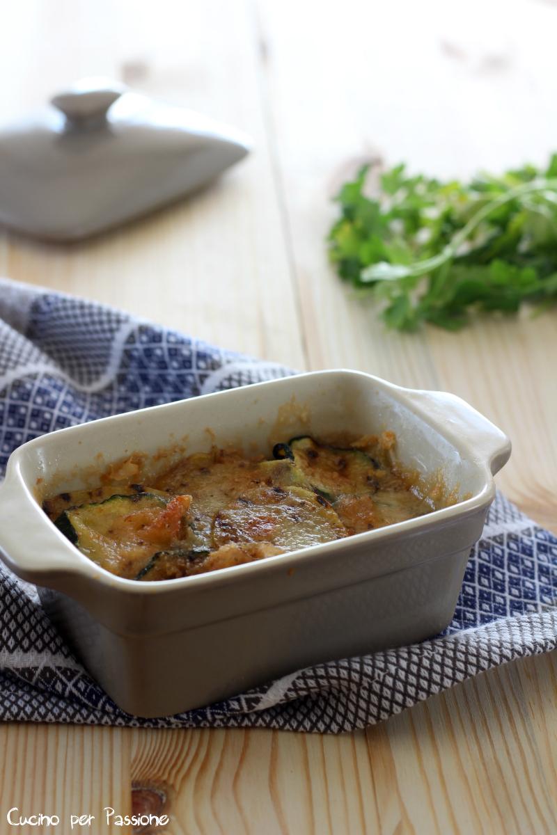 tortino di zucchine e patate al forn
