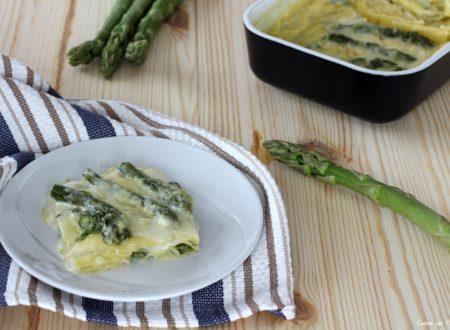 Lasagne con asparagi primo piatto gustoso