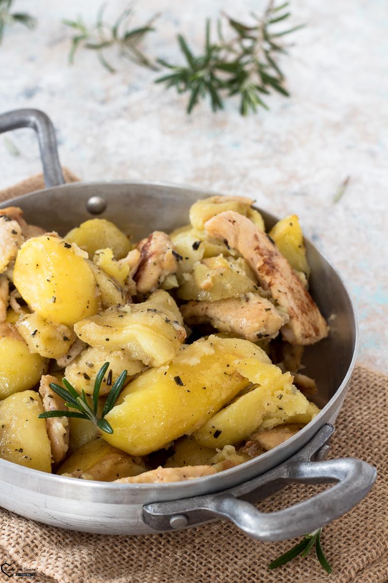 Petto di Pollo alla diavola con patate