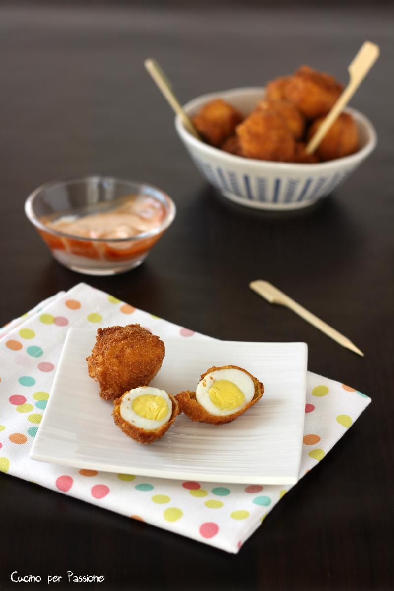 Uovo Impanato e Fritto di Quaglia O Tradizionale