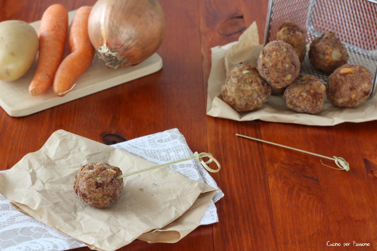Polpette di carne lessa, ricetta del riciclo