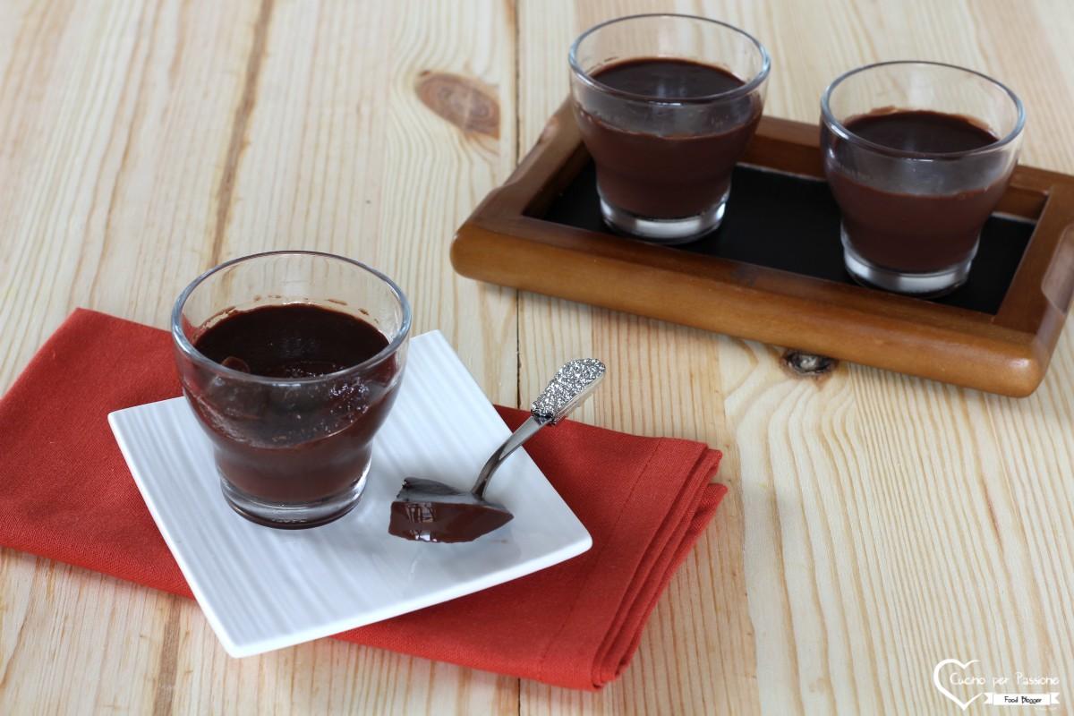 Budino al cioccolato monoporzione