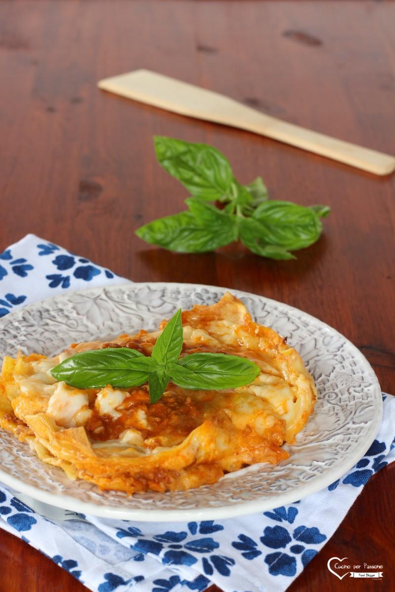 Lasagne alla Bolognese Cottura Anche al Microonde
