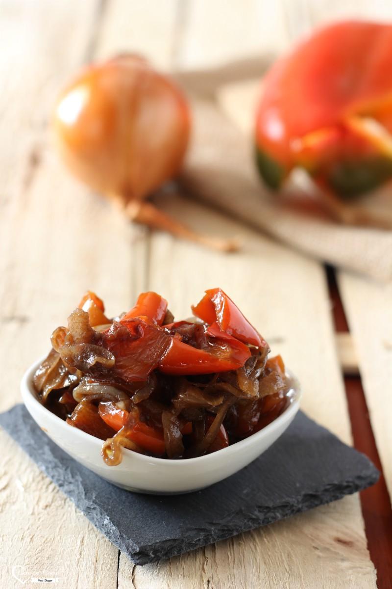 Peperoni in saor ricetta veneziana