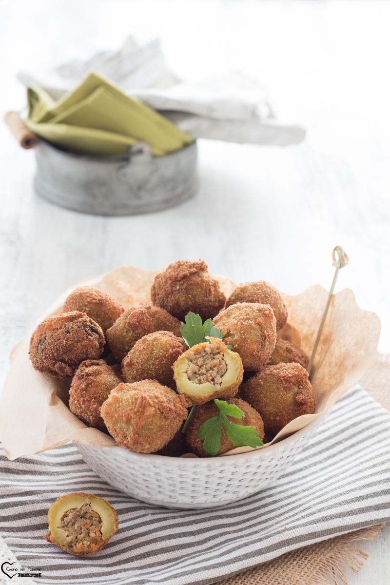 Olive ripiene di pesce