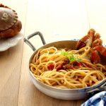 Spaghetti con sugo di granciporro