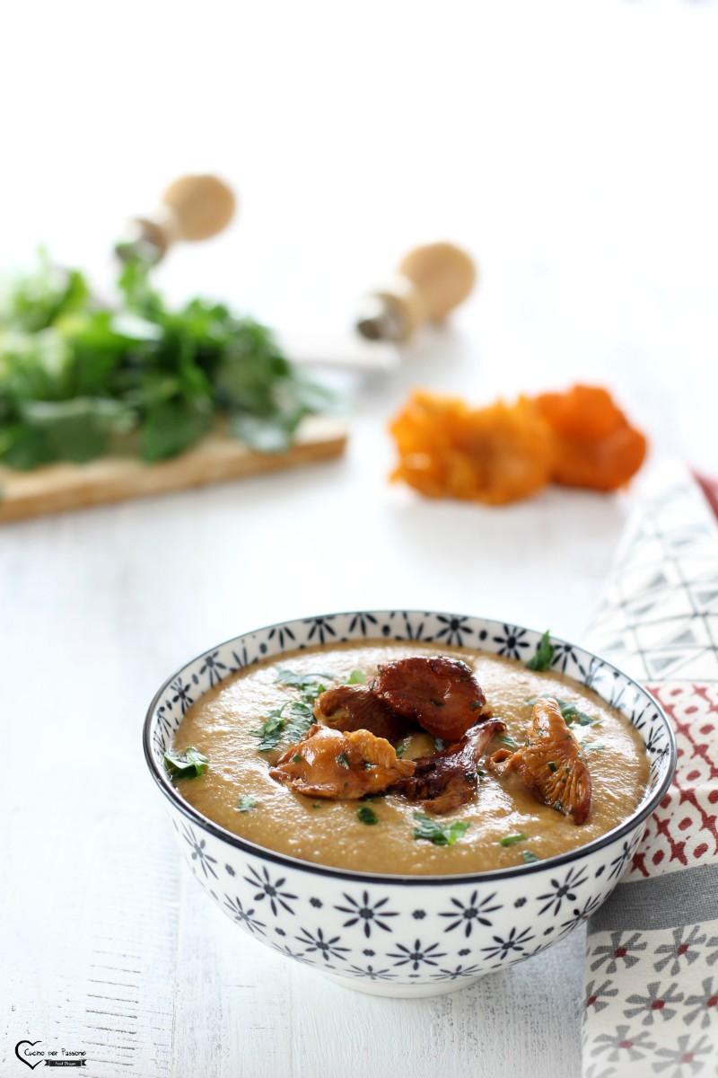 Zuppa di funghi finferli ricetta gustosissima