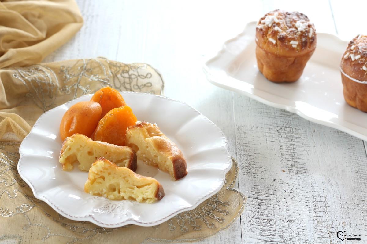 Muffin allo yogurt e albicocche