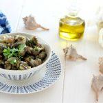 Garusoli o murici aglio olio e prezzemolo
