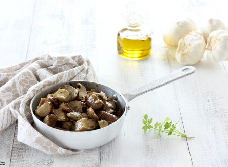 Funghi porcini trifolati piatto semplice