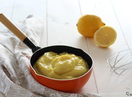 Crema pasticcera al limone per farcire tanti dolci