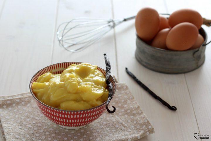 Ricetta crema pasticcera facile con vaniglia
