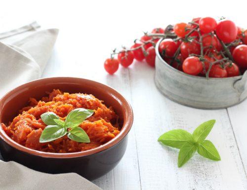 Ragù vegetale di carote veloce e gustoso