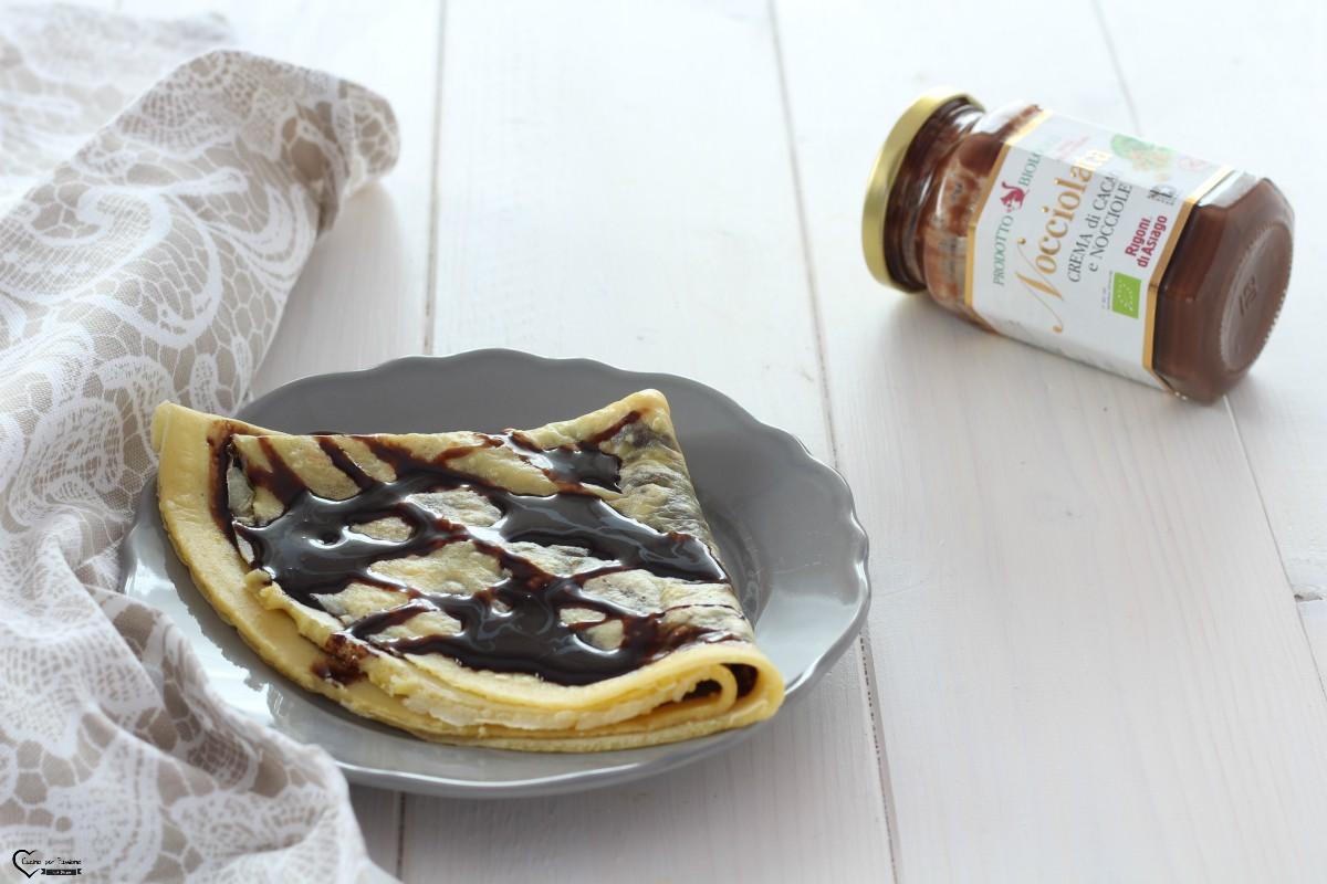 Crepes al cioccolato ricetta golosa
