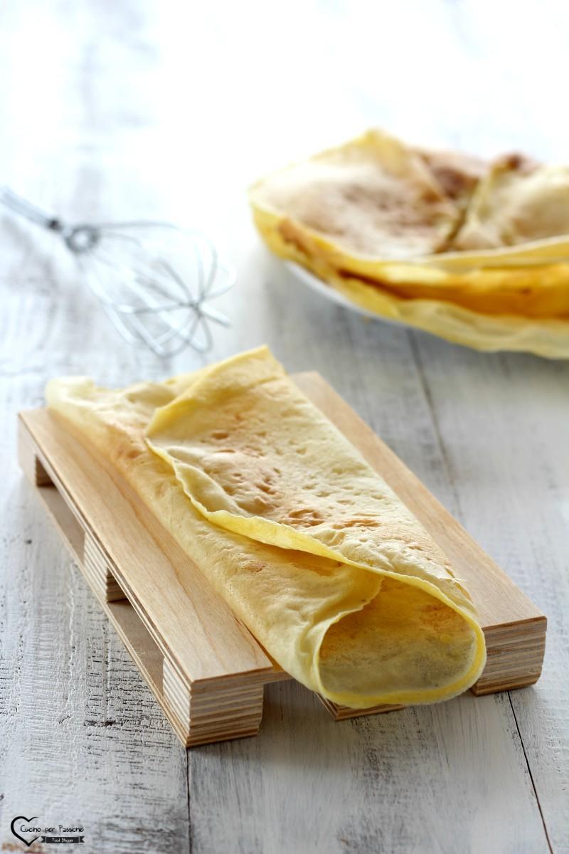 Crepes vegane ricetta base per dolci e salati