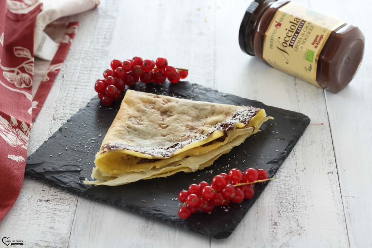 Crepes dolci ricetta