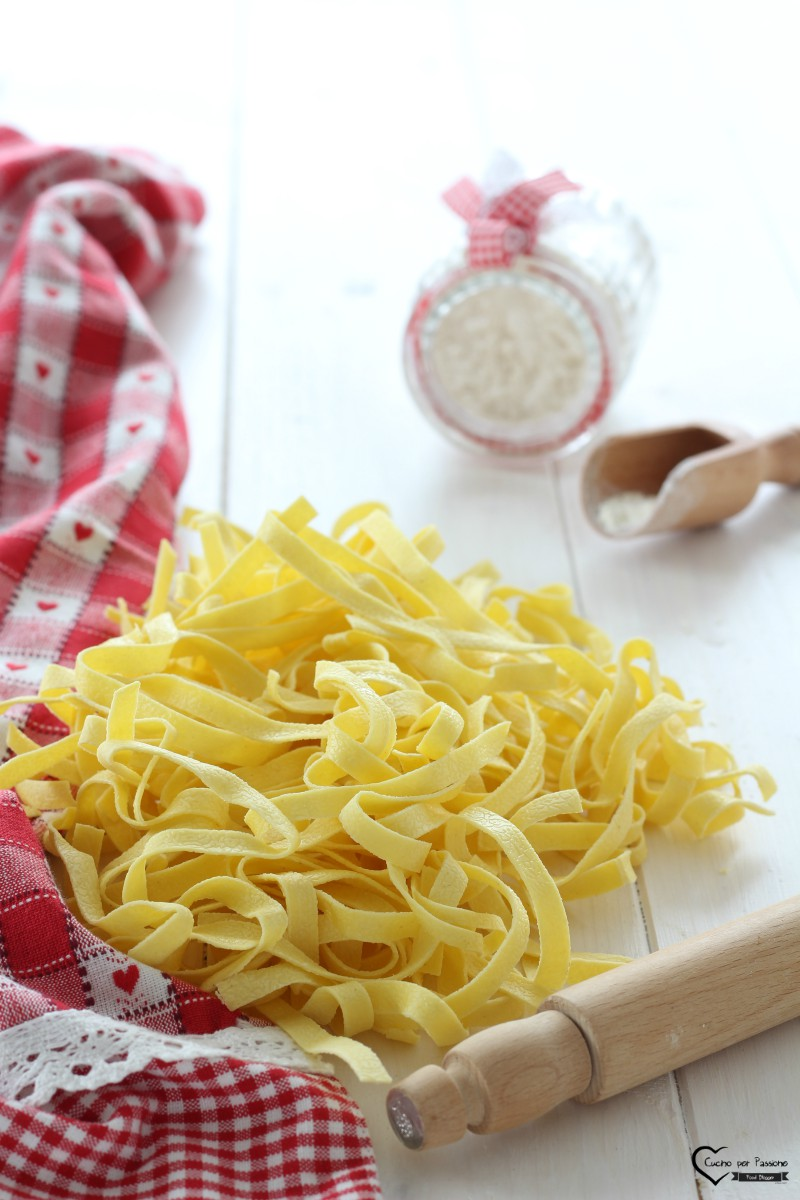 Ricetta tagliatelle all'uovo fatte in casa