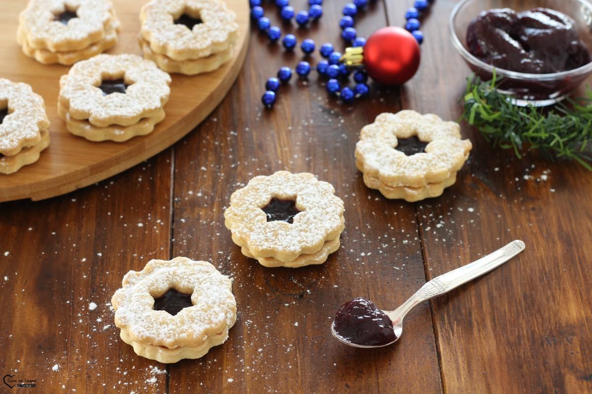 Biscotti occhio di bue facili e golosi