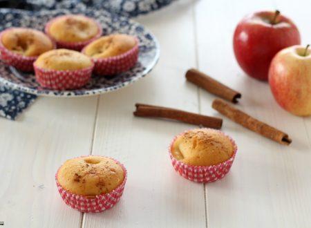 Muffin alle mele e cannella sofficissimi
