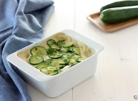 Lasagne con zucchine semplici e buonissime