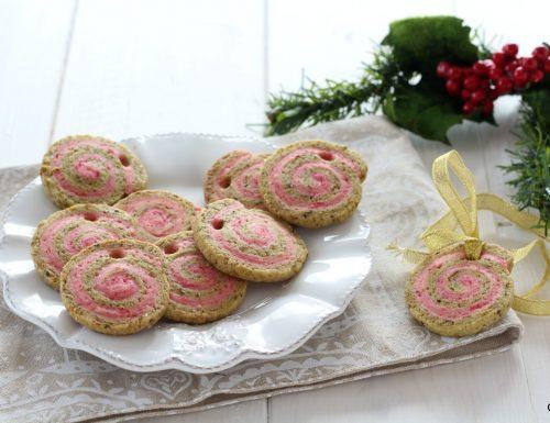 Biscotti bicolore speziati Natalizi