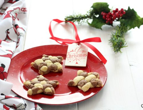 Biscotti intrecciati per Natale